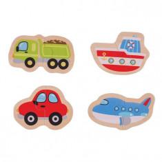 Puzzle - mijloace de transport (8 piese)
