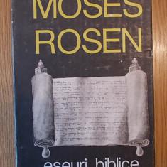 ESEURI BIBLICE EDITIA A II A-DR MOSES ROSEN, COPERTA CARTONATA, r1c