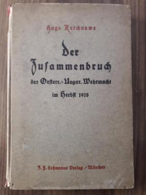 Carte Der Zussamerbruch der Oesterr-Ungar Wehrmacht im Herbst 1918 razboi ww1 foto