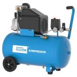 Cumpara ieftin Compresor cu ulei cu un cilindru 260 10 50 Guede GUDE50129, 1500 W, 50 L, 10 bari