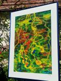 Cumpara ieftin Tablou Mare Pictat Acrilic, Nonfigurativ, Abstract, ART