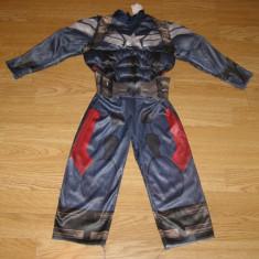 Costum carnaval serbare captain america pentru copii de 1-2 ani, Din imagine