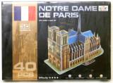 Puzzle 3D - Catedrala Notre Dame
