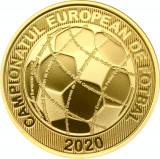 Moneda 50 bani proof EURO 2020