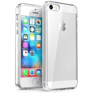 Husa APPLE iPhone 5C - Silicon TPU (Transparent)