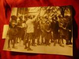 Fotografie de Presa 1934 - Grup Cercetasi Indieni viziteaza Londra , 16x12cm
