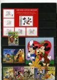 1997 - DOMINICA - WALT DISNEY- VALENTINE'S DAY, Animatii, Nestampilat
