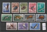 Iugoslavia 1954, fauna Mi. 738/749 MNH, cat. 150 €, Nestampilat