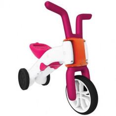 Tricicleta Bunzi 2 in 1 Roz