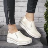 Pantofi dama Piele casual bej Virajini