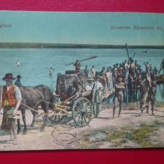 Techirghiol Scoaterea Namolului din lac, Circulata, Printata