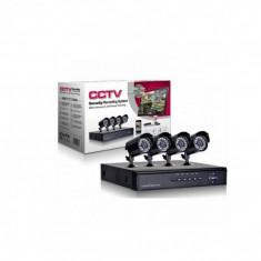 Sistem supraveghere 1200 TVL - Accesorii complete