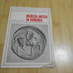 CONSTANTIN PREDA--MONEDA ANTICA IN ROMANIA - 1969
