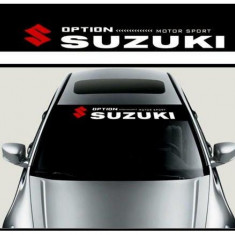 Sticker parasolar auto Suzuki