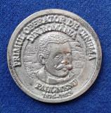 Medalia primul operator de cinema din Romania - PAUL MENU - medalie Rara