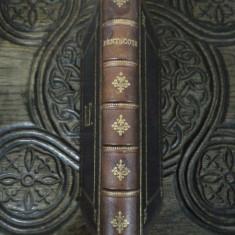 RUGACIUNI DE SARBATOARE PENTRU ISRAELITI / PRIERES DES FETES , PENTECOTE, PARIS, 1861