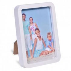 Rama foto, modern, 15×10 cm, alb