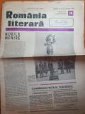 Romania literara 18 septembrie 1980-art. si foto orasul iasi,ceausescu la iasi
