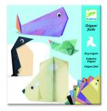 Set creativ pentru copii, Origami animale polare Djeco