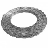 Sârmă ghimpată Concertina, oțel galvanizat, 500 m, vidaXL