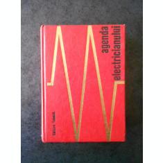 E. PIETRAREANU - AGENDA ELECTRICIANULUI (1971, editie cartonata, format mic)