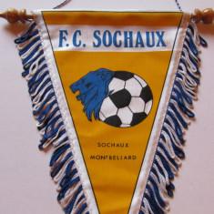 Fanion fotbal - FC SOCHAUX (Franta)