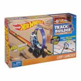Jucarie Pista Hot Wheels Loop Launcher Track Builder DMH51 Mattel