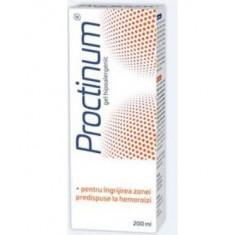 Proctinum gel hipoalergic,igiena ano-rectala, 200ml, Zdrovit