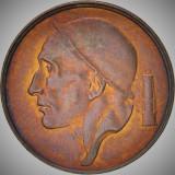 Moneda 50 Centimes - BELGIA, anul 1998 *cod 2210 =UNC din fasic