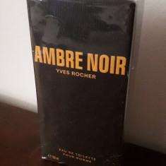 AMBRE NOIR, YVES ROCHER, 100 ml Eau de toilette por HOMME, Apa de toaleta