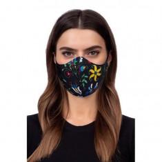 Cumpara ieftin Masca Antipraf cu Membrana iberry Face Mask Folklore 2 Black