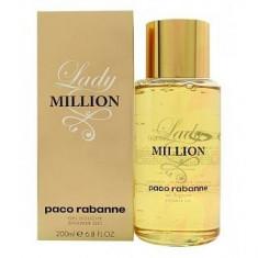Paco Rabanne Lady Million Gel de duș femei 200 ml