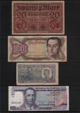 Cumpara ieftin Set #81 7 bancnote de colectie 1918-2009, Europa