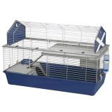 Cușcă pentru rozătoare BARN 120 albastră, Ferplast