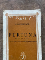 Shakespeare - Furtuna foto