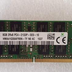 Memorie Ram 8GB DDR4 PC4-2133P Soddim Hynix HMA41GS6AFR8N