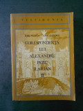 IOSIF PERVAIN - CORESPONDENTA LUI ALEXANDRU PAPIU ILARIAN  volumul 2