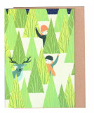 Felicitare - Christmas Forest Greeting Card | OHH Deer