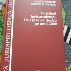 BULETINUL JURISPRUDENTEI. Culegere de Decizii pe Anul 2009, 989 p.