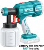 TOTAL - Pistol de vopsit - 800ml - Li-Ion - 20V (NU include acumulator si incarcator) - MTO-TSGLI2001