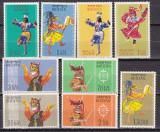 Bhutan  1964   dansuri  MI  22-30  MNH  w70