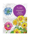 Flori. Colorează după numere