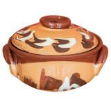 Oala ceramica, lut, 650 ml, 016359,
