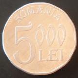 Moneda 5000 LEI - ROMANIA, anul 2003  *cod 33  - aluminiu