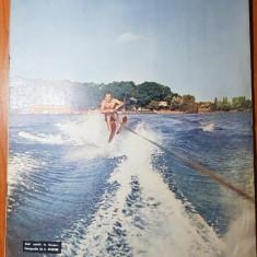 revista flacara 10 august 1963-articol  petrosani,valea jiului,iezeru avrigului