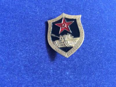 Insigna Rusia - Tancuri - Tanchist - Armata rusă foto