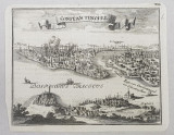 Constantinopol - Gravura Secol 18
