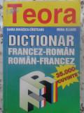 DICTIONAR FRANCEZ-ROMAN ROMAN-FRANCEZ (35.000 CUVINTE)-SANDA MIHAESCU-CIRSTEANU, IRINA ELIADE