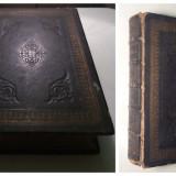 Biblie VECHE/Scriptura veche - HOLY BIBLE - Londra - 1859 - cu GRAVURI