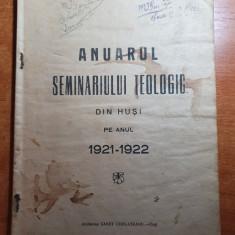 anuarul seminarului teologic din husi 1921-1922